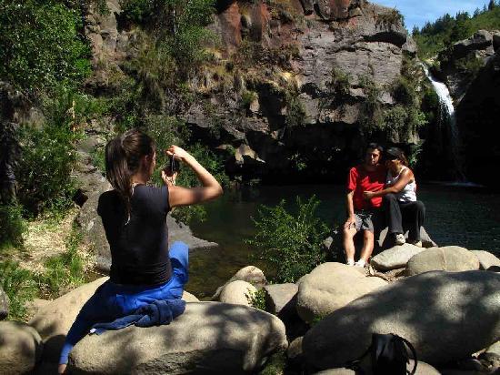 Shangri-La Colchagua Lodge: Trekkin al Lagunas Cordilleranas