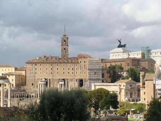 The Inn At The Roman Forum - Small Luxury Hotel: view from the terrace