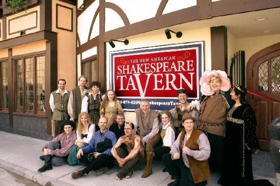 The Shakespeare Tavern Playhouse: The cast