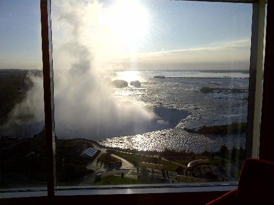 Niagara Falls Marriott Fallsview Hotel & Spa: view from room