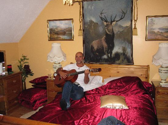 Burnbrae Bed and Breakfast : Fernando and the Monarch!