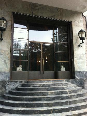 Villa Necchi Campiglio: ingresso