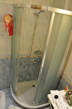 AVA Hotel Athens: Shower - NB Top 20 in Europe???