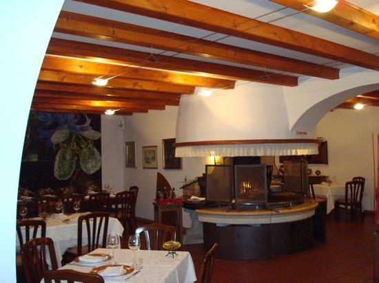 Albergo Ristorante Belvedere : restaurant