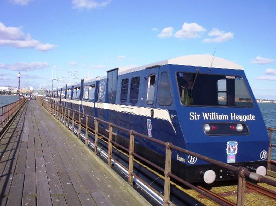 Southend Pier: One of the 1986 diesel trains
