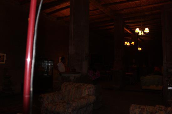 La Confianza Hotel - Lunahuana: lobby perfecto