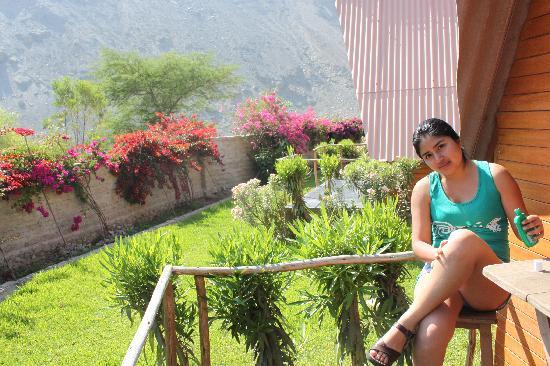 La Confianza Hotel - Lunahuana: Sol todo el año