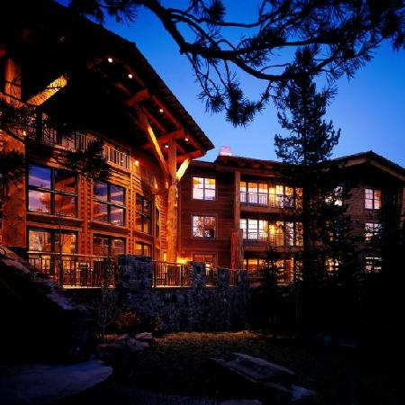 Teton Club: Exterior at night
