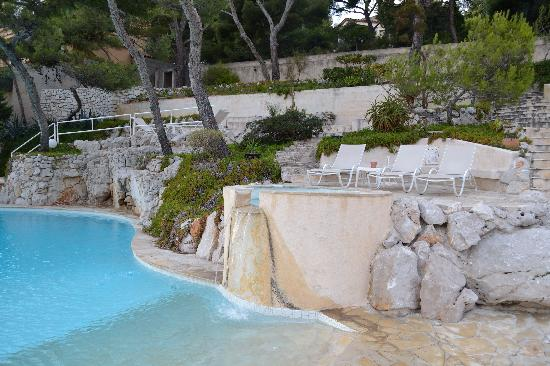 Les Roches Blanches: Pool