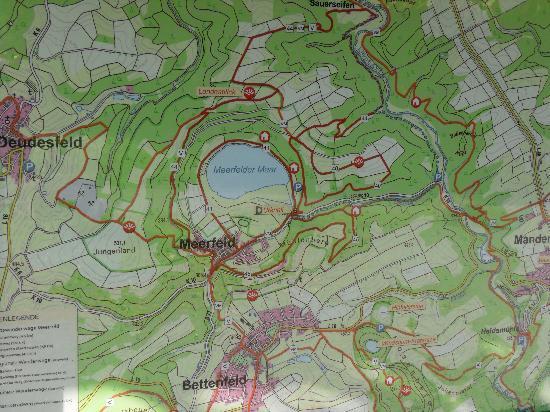 Eifel Hotel Lamberty: Meerfelder Vulkaan meer