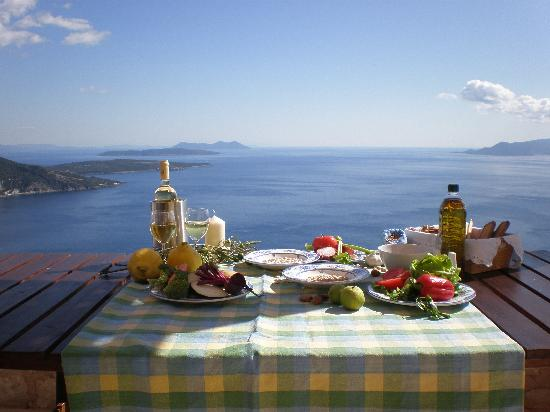 Urania Luxury Villas Lefkada: Cooking lessons in the villas