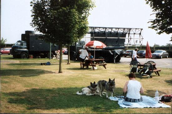 RAF Air Defence Radar Museum: Our Picnic area