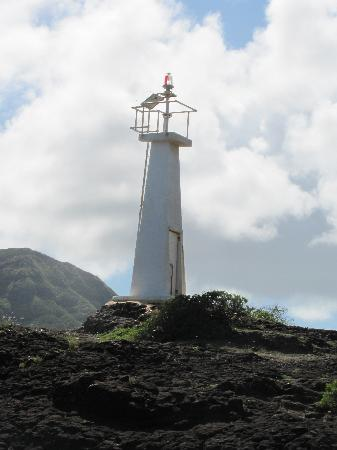 Banyan Harbor Resort: Harbor light house, Nawiliwili
