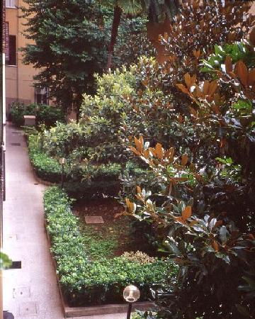 Alex Bed and Breakfast: Garden