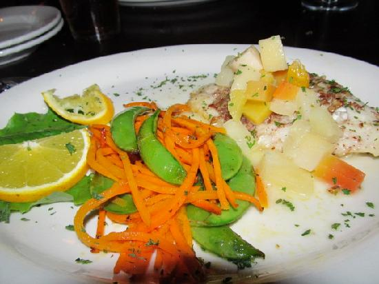 Seaside Grill: Pecan-Crusted Snapper