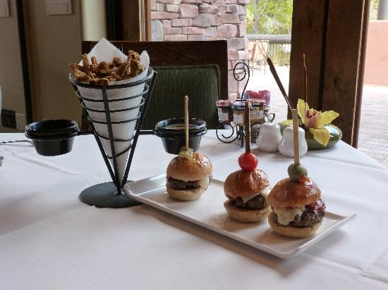 Enchantment Resort: Our wonderful lunch