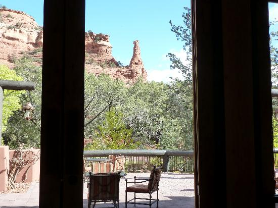 Enchantment Resort: View through the windows
