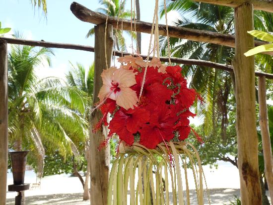 Vatulele Island Resort By Six Senses: Great flowers everywhere