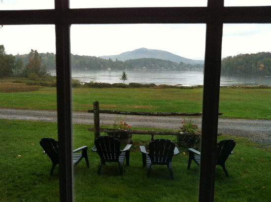 "Branch Farm Bed & Breakfast: Lake view from the downstairs of ""Number Five"""