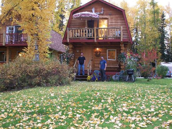 Riverbend Log Cabins & Cottage Rentals: Sourdough Cabin