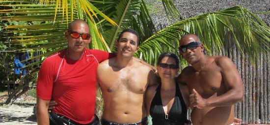 Club Amigo Carisol Los Corales: Ernesto, William, Sergio