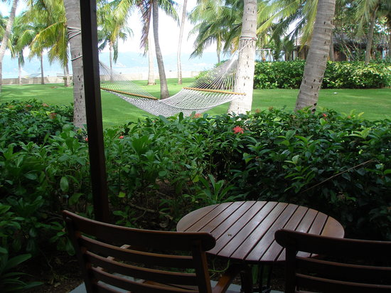 Peter Island Resort and Spa: ocean view patio