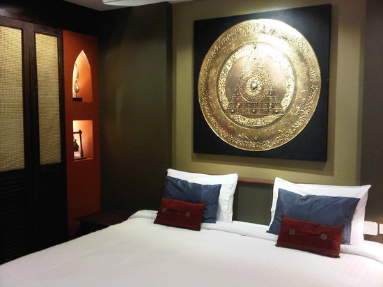 Hotel Villa Deux Rivieres: Standard room