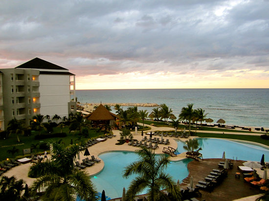 Secrets St. James Montego Bay: The view from our room.