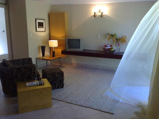 Intaka Lodge: King Fisher TV area
