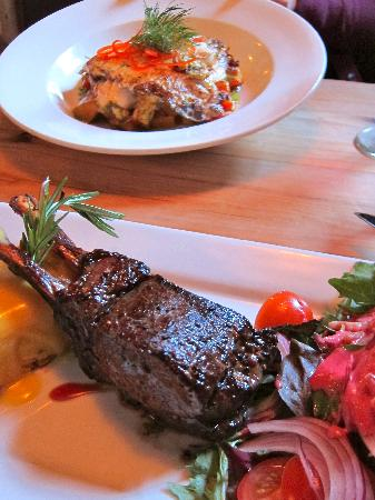 Redcliff Restaurant & Bar: Fish and venison