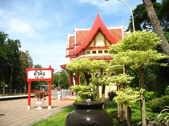 Hua Hin Markwin Lodge: railway station