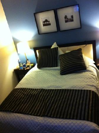 أرارات موتور إن: the bed although it was beautifully made before I got to it