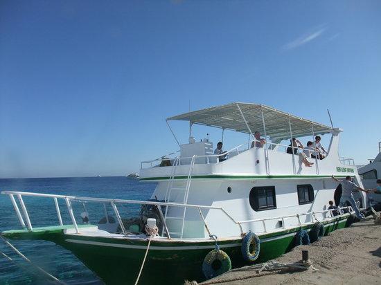 New Son Bijou Diving Center: The Bijou boat