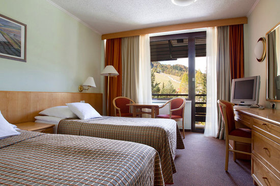 هوتل كومباس: kompas mountain view room