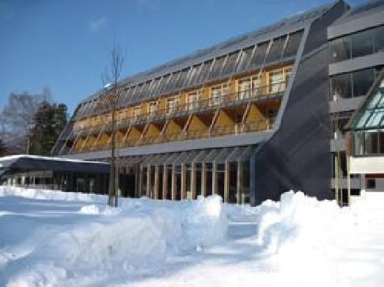 Hotel Spik Alpine Wellness Resort: winter outside view building (4*)