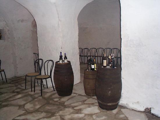 Villa Medicea Lo Sprocco: saletta per degustazione vini