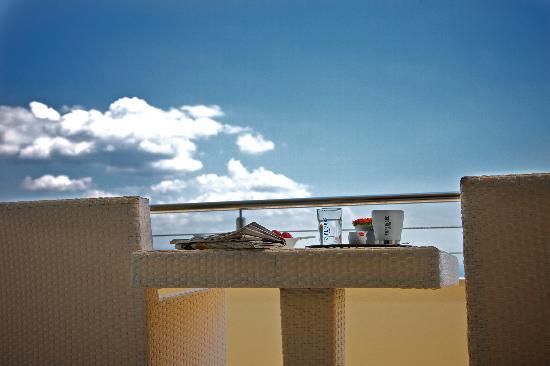 Hotel Villa Kapetanovic: Balcony