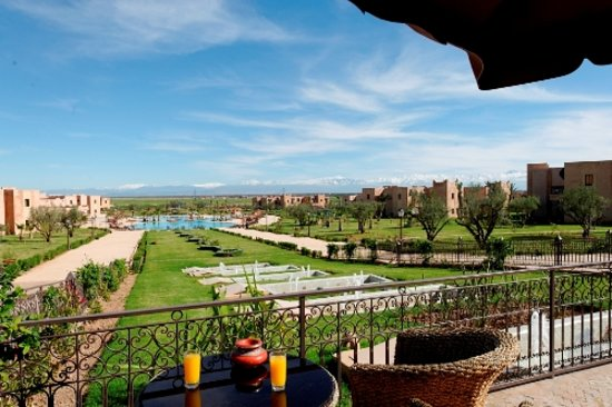 Marrakech Ryads Parc & Spa: view from the top