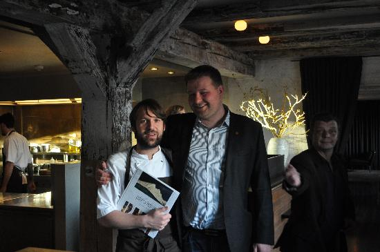 Noma: The one and only, Rene Redzepi and me