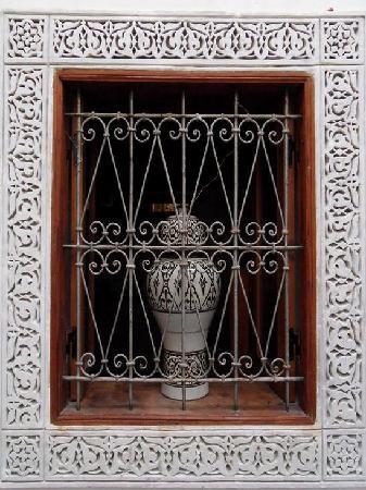 Dar El Menia: Kitchen Window