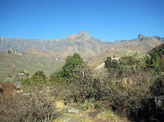 Thendele Hutted camp: View from the chalet