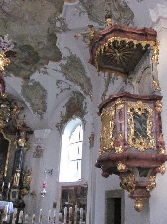 Wallfahrtskirche zur schmerzhaften Mutter Gottes: pulpit