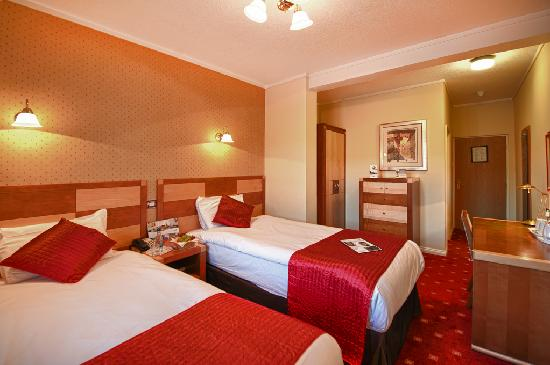 Quality Hotel Coventry: Twin Room