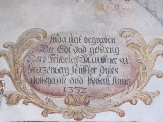 Heilig Geist Spitalkirche: fresco