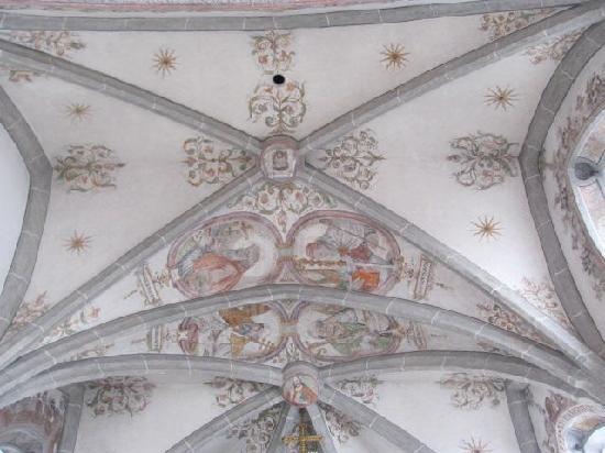 Heilig Geist Spitalkirche: ceiling