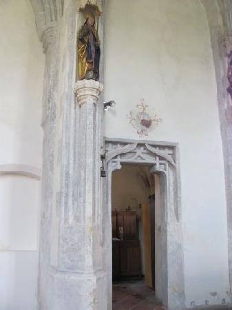 St.Hedwig Kapelle: sacristy
