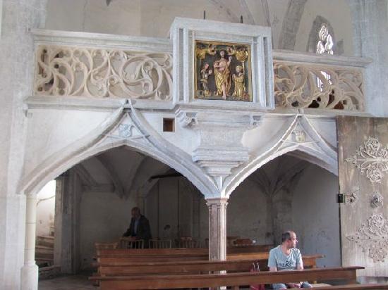 St.Hedwig Kapelle: rear end