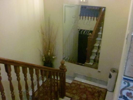 Hotel Real: escaleras