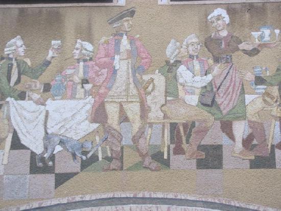 Gruben: mural
