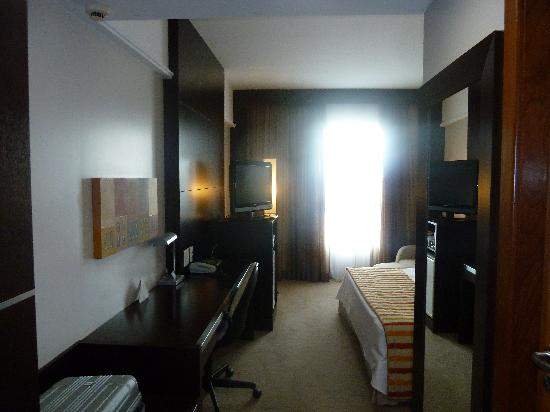 Quality Hotel Afonso Pena: View from the entrance of the room